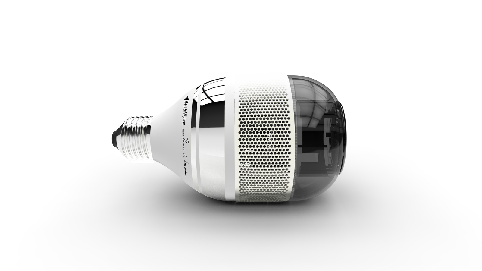 hybrid lamp with speakers include